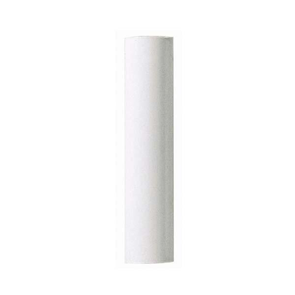 "Berkeley Lighting Company in Berkeley, California, United States,  H8X2, Plastic Candle Covers 13/16"" Inside Dia. - 7/8"" Outside Dia. White Plastic 1-1/2"","