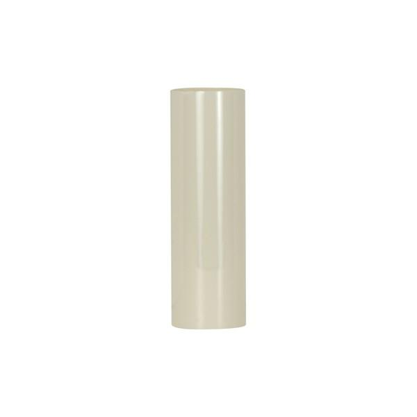 "Plastic Candle Covers 13/16"" Inside Dia. - 1-1/4"" Outside Dia. Cream Plastic 6"""