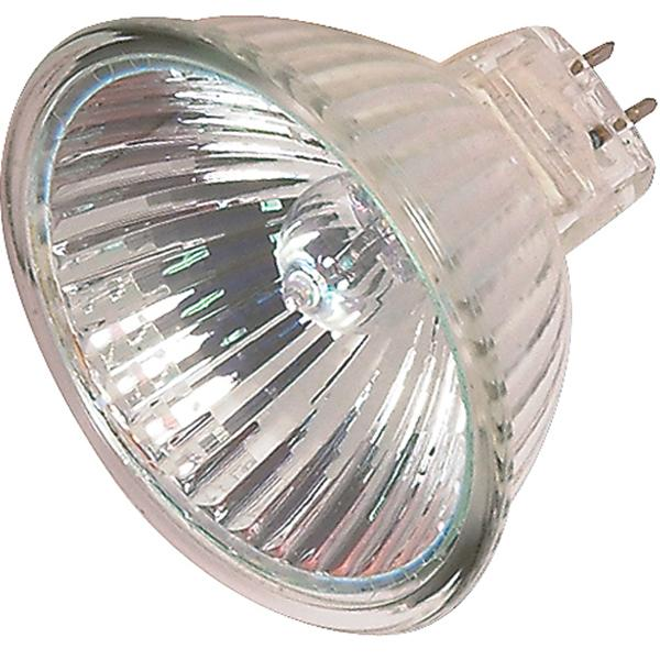 20 watt; Halogen; MR16; 4000 Average rated Hours; Miniature 2 Pin Round base; 12 volts