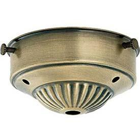 "Berkeley Lighting Company in Berkeley, California, United States,  H61W, 3 1/4"" Fitter AntiqueBrass Finish,"