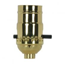 Satco Products Inc. 80/1022 - On-Off Push Thru Socket