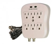 Satco Products Inc. 91/228 - 6 OUTLET COAX SURGE PROTECTOR