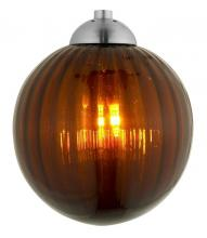 Oggetti Luce 98-18PAMB/LT - PERLE GLOBE, LT AMBER (SHADE ONLY)