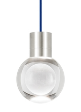 Tech Lighting 700TDMINAP1CUS-LED930 - TD-MINA 1 CL BLUE SN-LED930
