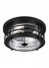 Sea Gull Canada 7824402-12 - Two Light Outdoor Ceiling Flush Mount