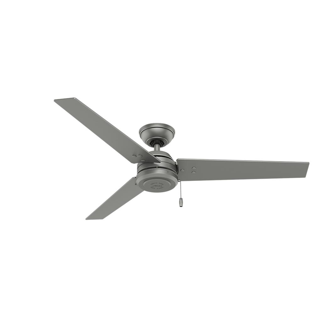 "Berkeley Lighting Company in Berkeley, California, United States,  402ZM27, 52"" Ceiling Fan, Cassius"