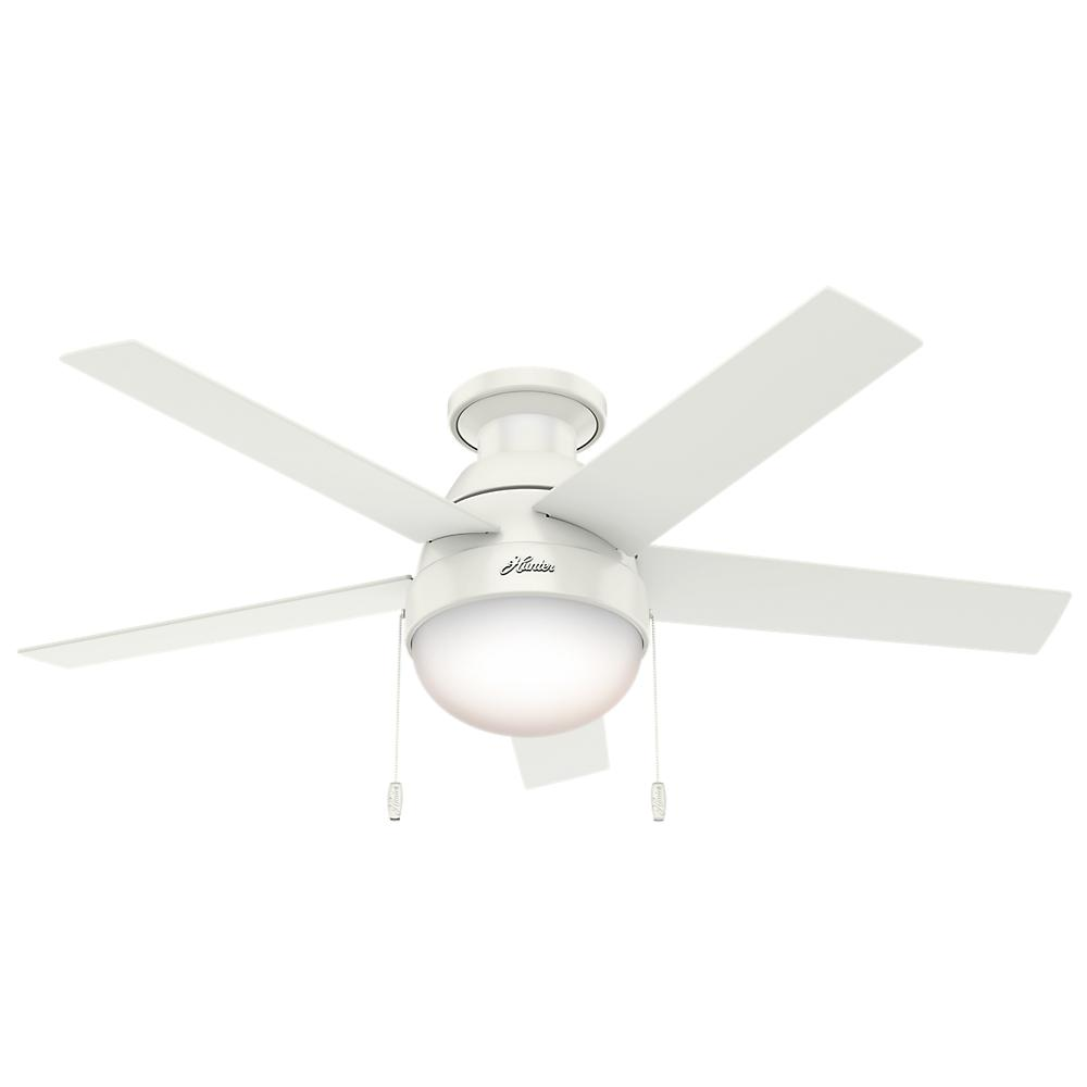 "Berkeley Lighting Company in Berkeley, California, United States,  402ZM2F, 46"" Ceiling Fan with Light, Anslee"