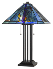 "CAL Lighting BO-2673TB - 25"" Height Metal Table Lamp In Matt Black"