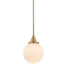 Hudson Valley 4809-AGB - 1 Light Pendant