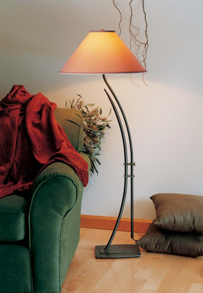 Metamorphic contemporary floor lamp
