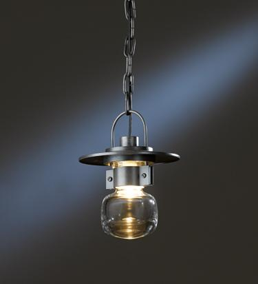 Mason outdoor ceiling fixture