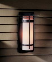Hubbardton Forge 305994-SKT-10-GG0037 - Banded with Top Plate Large Outdoor Sconce