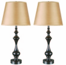 Kenroy Home 32200ORB - Stratton II 2-Pack Table Lamp