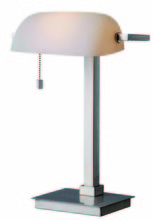 Kenroy Home 32305BS - Wall Street Desk Lamp