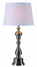 Kenroy Home 32306BS - Chatham Table Lamp
