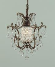Feiss F1879/1BRB - 1- Light Mini Chandelier
