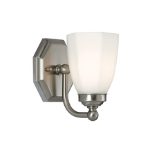 Norwell 8318-BN-HXO - Trevi 1 Light Sconce