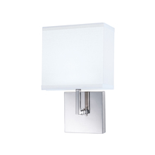 Norwell 8985-CH-WS - Maxwell 1 Light Sconce