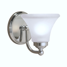 Norwell 9661-CH-FL - Soleil 1 Light Sconce