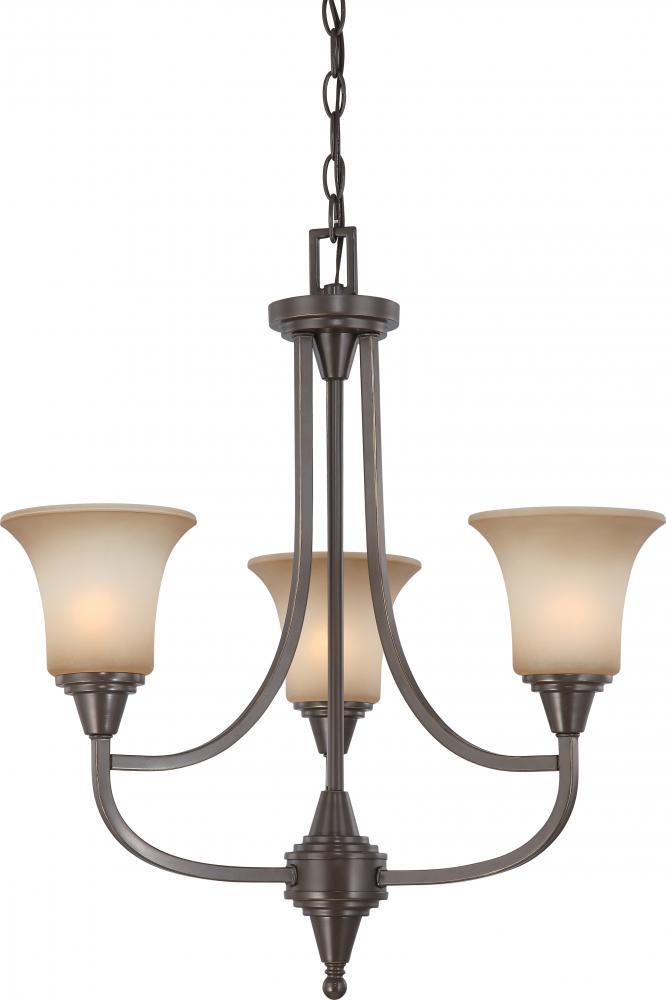 Surrey 3 light chandelier 604165 berkeley lighting company surrey 3 light chandelier aloadofball Images