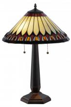 "Meyda Tiffany 138579 - 24.5""H Tuscaloosa Table Lamp"