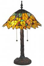 "Meyda Tiffany 139603 - 24.5""H Follaje Table Lamp"