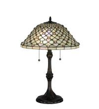 "Meyda Tiffany 18728 - 25""H Diamond & Jewel Table Lamp"