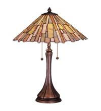 "Meyda Tiffany 52158 - 23""H Delta Jadestone Table Lamp"
